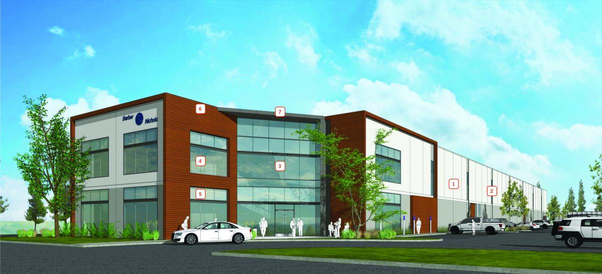 new building render