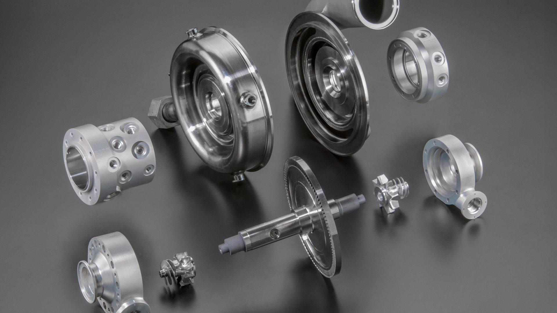 Virgin Orbit Turbomachinery parts