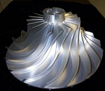 Five Axis Impeller
