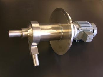 Argon Compressor for CERN